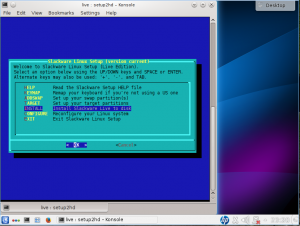 slackware live cd